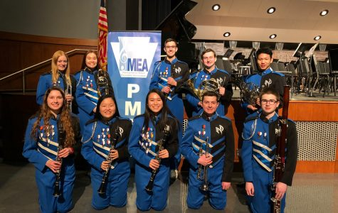 Nine students selected for All-State Concert Band