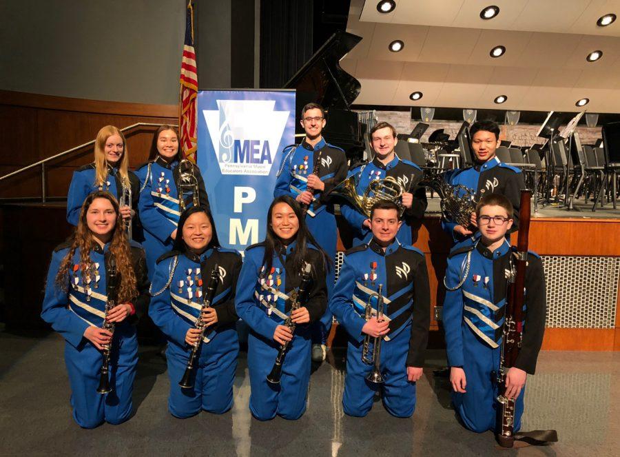 North Penn students at PMEA.