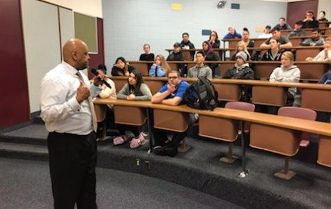 NP alum Ron James teaches 'Power of Choices'