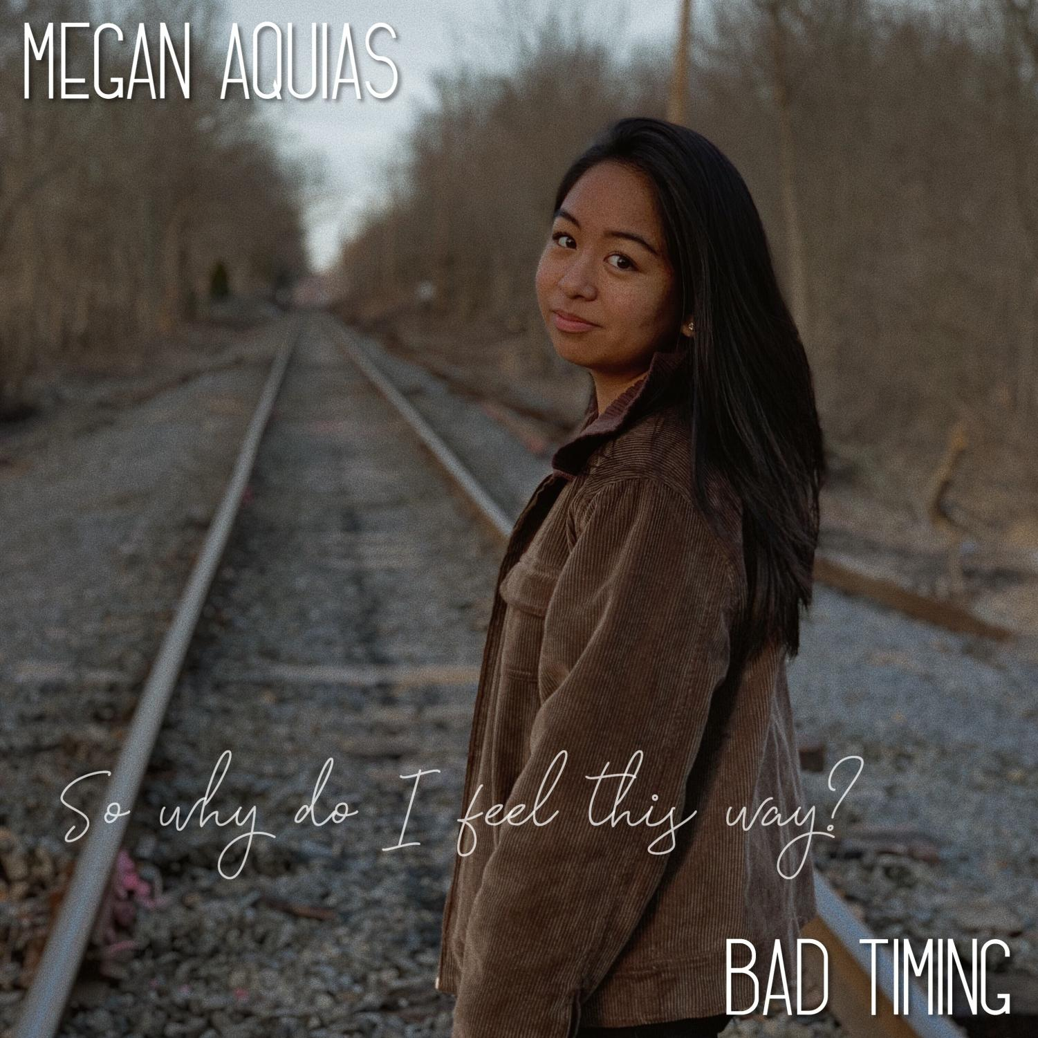 Senior Megan Aquias recently released her first single