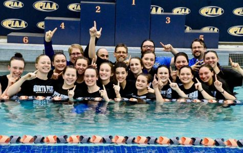 Knights Swim and Dive teams cap off another mark on school history