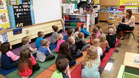 NPHS introduces emotional support kindergartners to manage the stress of high school students.
