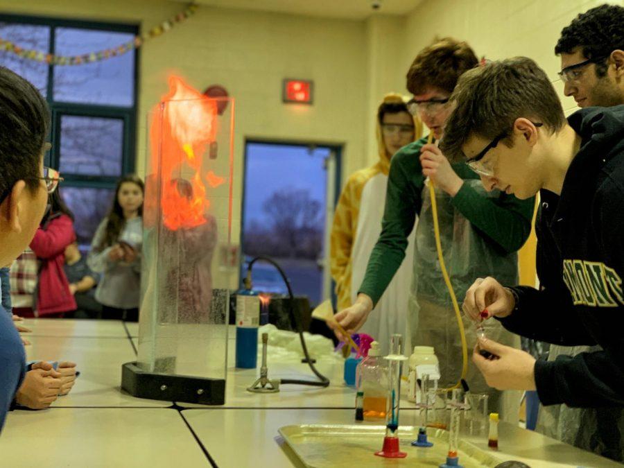 NPHS students participate in Walton Farm STEM night