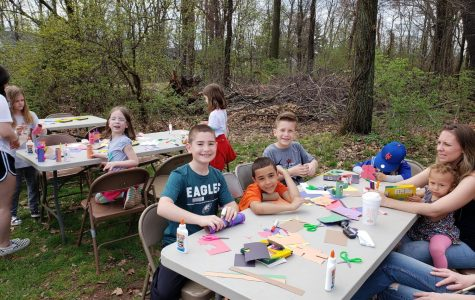 Enact club hosts Hop into Spring event