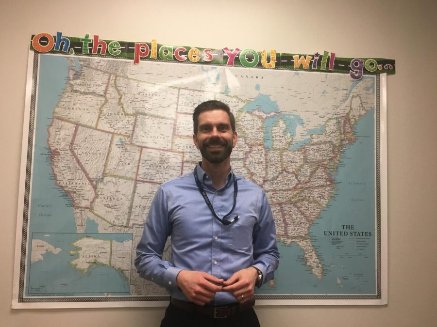 Mr. Samuel Feeney hopes to guide students to success in college, careers, and beyond.