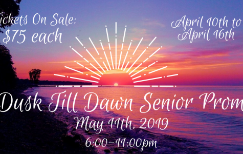 Senior Prom ticket sales