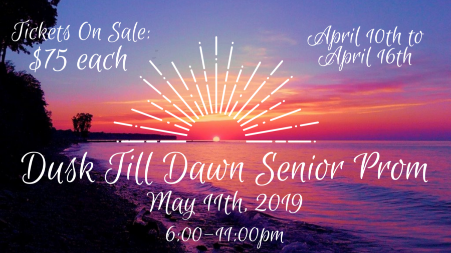 Senior Prom ticket sales