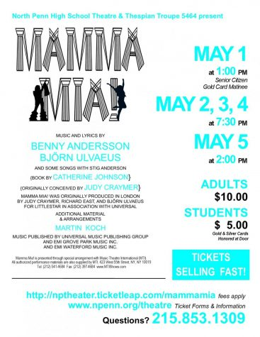 Mamma Mia! Takes the Stage at North Penn this Spring