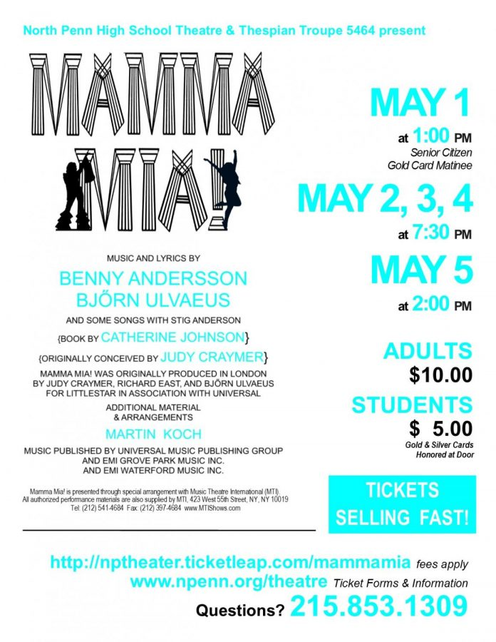 Mamma+Mia%21+Takes+the+Stage+at+North+Penn+this+Spring