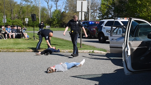 NPHS held their annual DUI reenactment this past Wednesday to show seniors the dangers of driving under the influence.