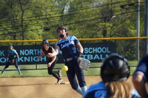 Volpe dominating in the circle for undefeated Knights