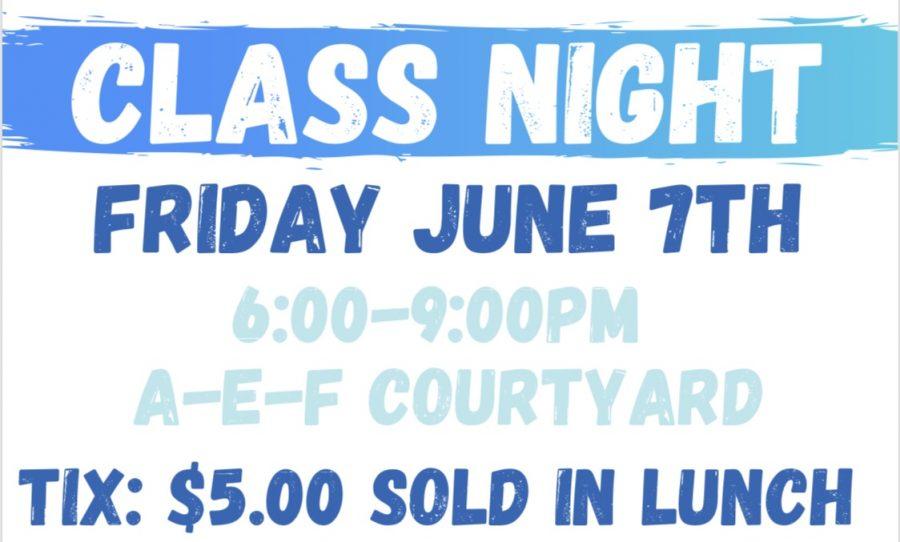 Senior Class Night Ticket Sales