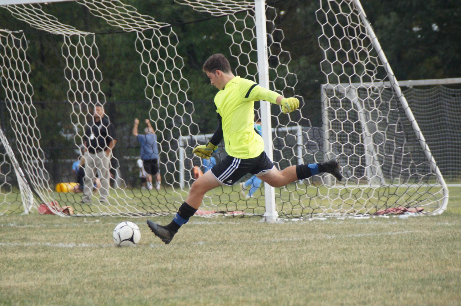 Sawyer Meade recorded a clean sheet for the Knights.