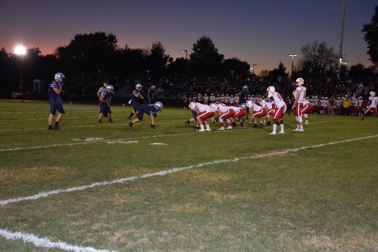 The Knights and Indians have become a big rivalry in local high school sports, with only a 15-minute drive away from each other.