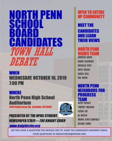 Knight Crier to host School Board Candidates Forum