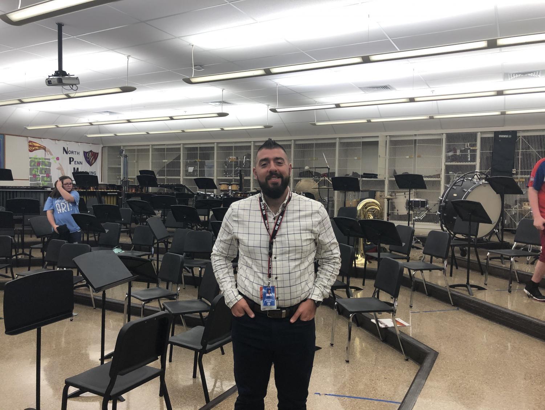 North Penn High School's newest band directer Mr. Joe Santanello