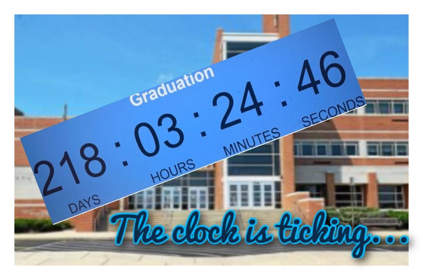 Good luck, seniors: your time starts now