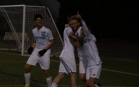 The moment the Knights knew they had won a state title as Carter Houlihan scores his second goal.