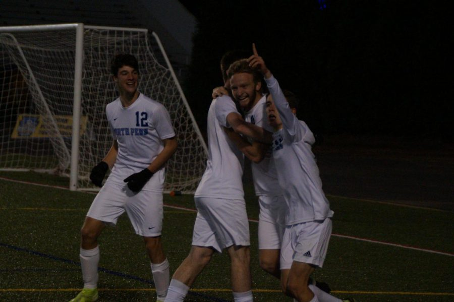 The+moment+the+Knights+knew+they+had+won+a+state+title+as+Carter+Houlihan+scores+his+second+goal.