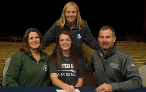 Alexa Juska, captain of the lacrosse team, will attend Slippery Rock University to major in exercise science and play lacrosse.