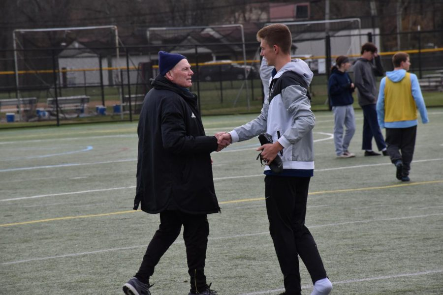 Coach Paul Duddy will be leading his North Penn boys soccer squad to Hershey PA for the state title game.