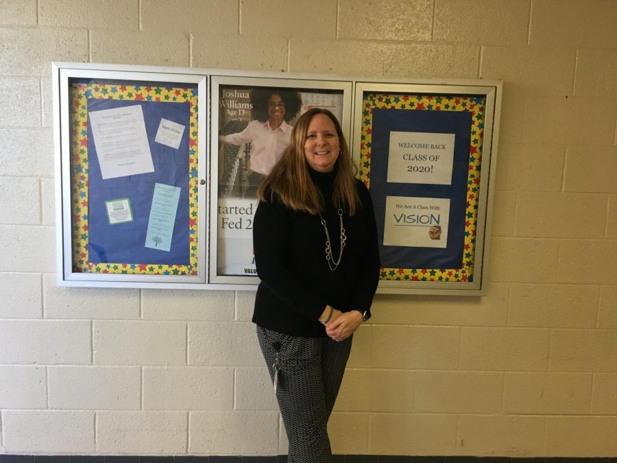 Mrs.+Amy+Linn+has+been+a+part+of+NPHS++administration+for+15+years+and+looks+forward+to+see+what+North+Penn%27s+future+holds.+