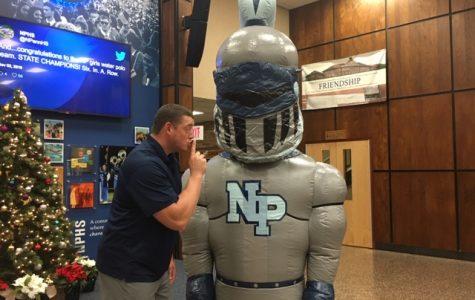 NPHS Health/Phys Ed teacher and Class Advisor Mr. Frey and our