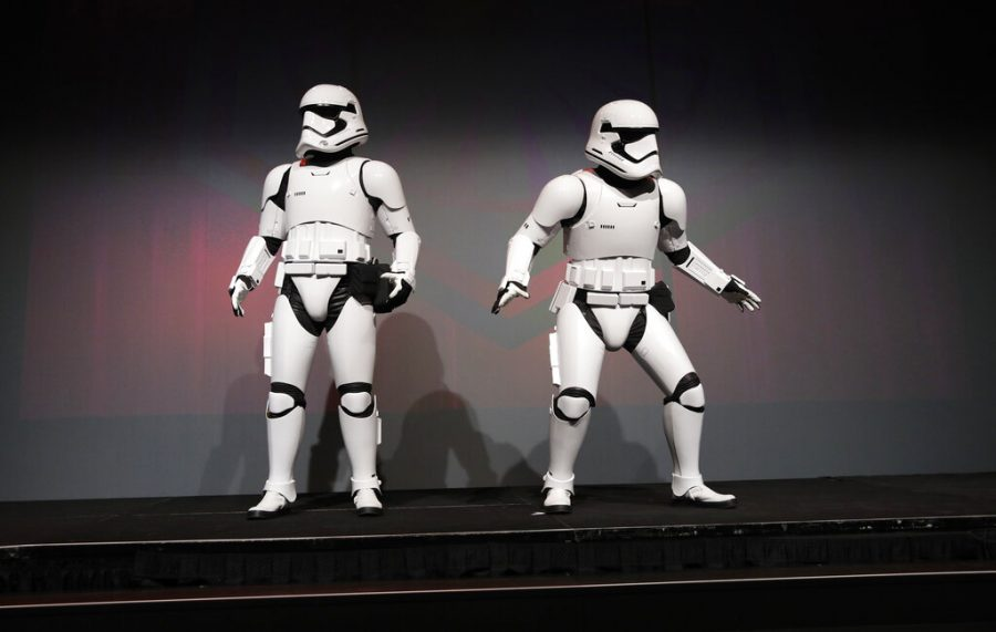 Star+Wars+stormtroopers+stand+on+stage+during+a+Panasonic+news+conference+before+the+CES+tech+show%2C+Monday%2C+Jan.+6%2C+2020%2C+in+Las+Vegas.+%28AP+Photo%2FJohn+Locher%29
