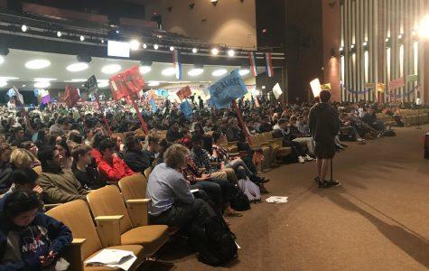 NP Students nominate Yang at 2020 Democratic Convention
