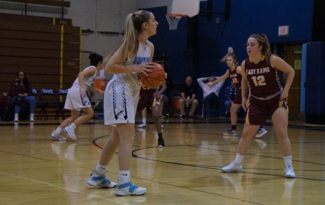 Knighs narrowly escape Lady Rams in non-conference matchup