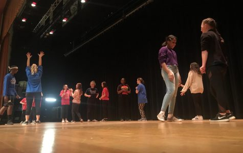 Thespian Troupe #5464 welcomes middle schoolers at annual workshops