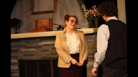 "Class of 2018 alum Haley Simmonds in a recent production of ""Hedda Gabler"" at Montgomery County Community College."