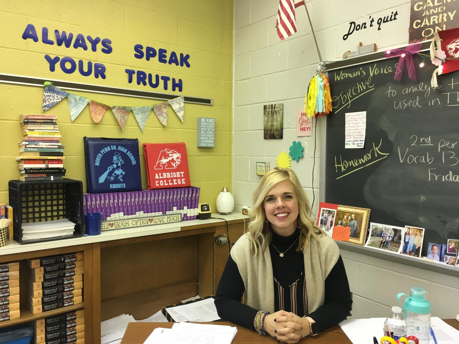 Mrs. Summer Sieller currently teaches tenth grade English and Women's Voices.