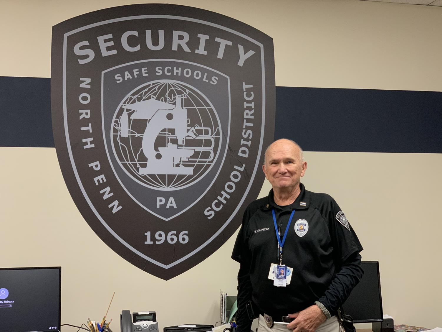 After working 21 years in the district, Mr. Walter Stachelek will be retiring.