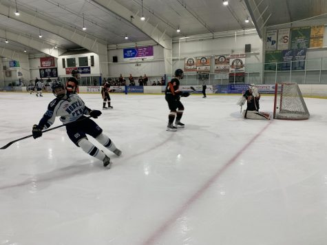 Knights slay Falcons in first round of SHSHL playoff hockey
