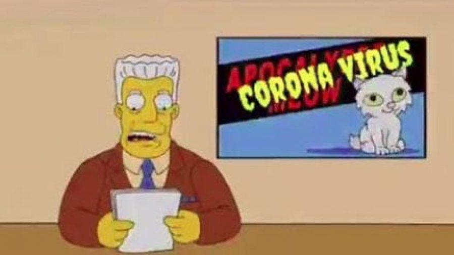 Les + Simpsons + ont + tout + prévu + - + à partir du + virus + éclatant + à travers + le + monde + jusqu'à + l'élection + du + président + Trump.