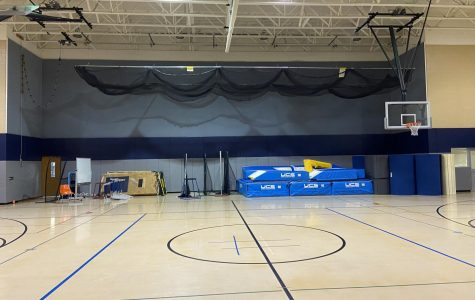 The Auxiliary gym is one of the three gyms at North Penn that has limited space for all student sports and activities.