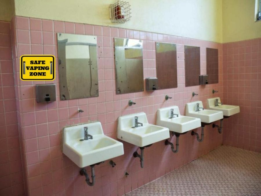 vaping bathroom