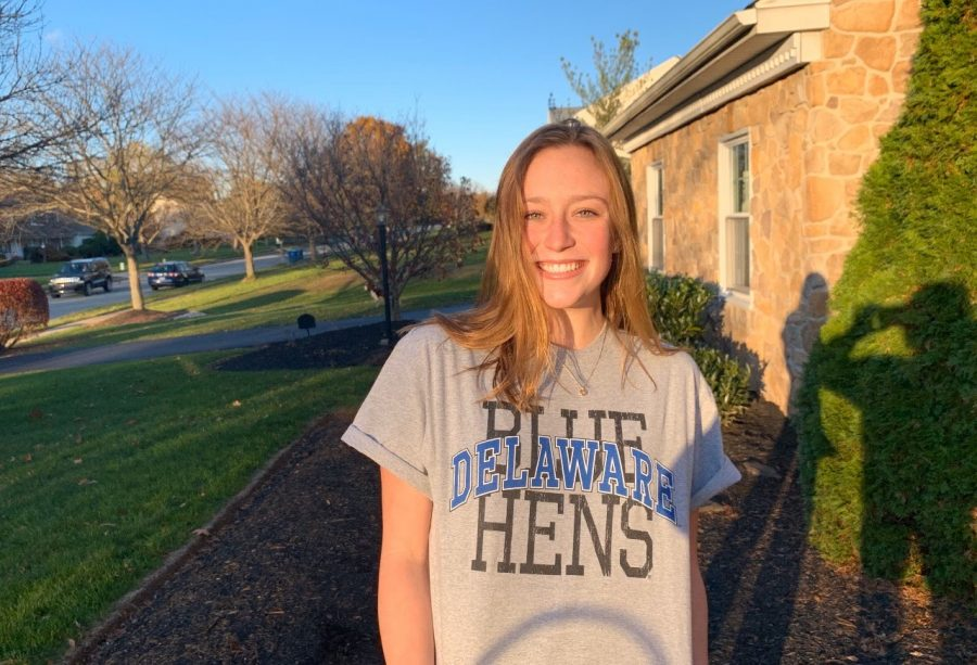 Nicole Chiappa will swim and study business at the University of Delaware.
