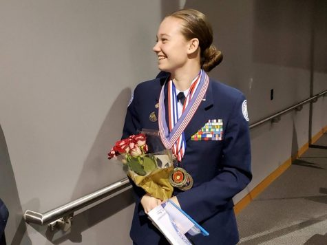 Lorna Loughery wins it all in JROTC