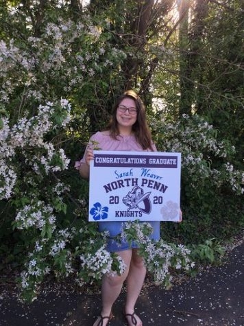 Sarah Weaver will be attending Penn State University for Hospitality Management or Business Management in the fall.