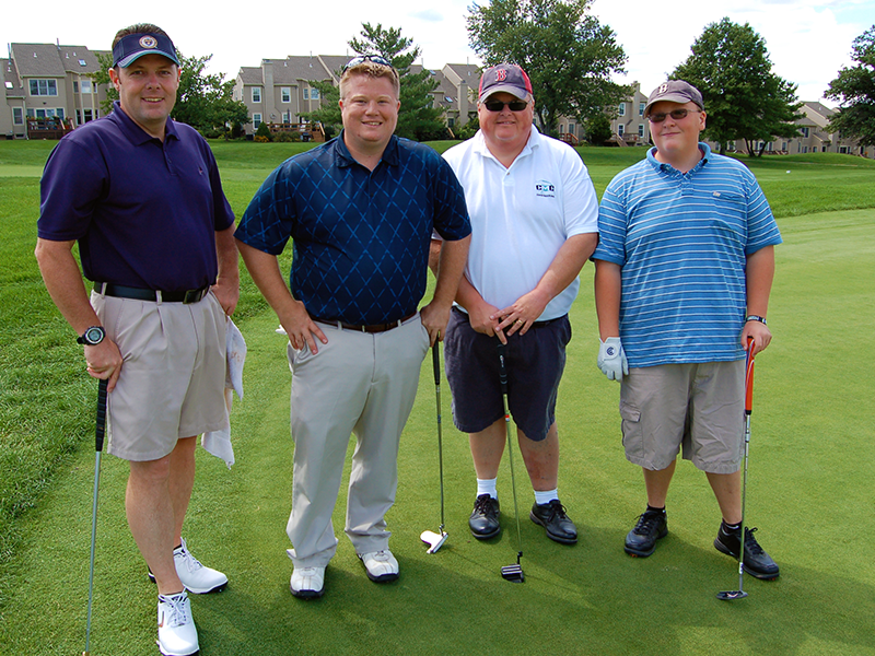Fore!!! This foursome from a previous NP Ed Foundation Golf Outing proudly supports the NP Ed Foundation. The 2020 outing is coming up on October 13, 2020.