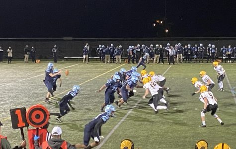North Penn takes on CB West on Friday, October 16 at NPHS. The Knights had little trouble with the Bucks under the Friday night lights.