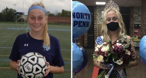 Soccer Royalty - NPHS senior Landry Holt is maximizing here senior year so far, serving as a soccer captain and now being elected Homecoming Queen .