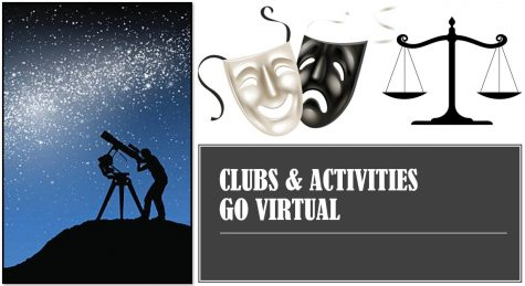 Clubs and activities in a virtual world