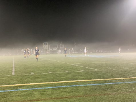 As the fog begins to loom over the turf on a cloudy Thursday evening, The Knights take to the field at the start of the second overtime looking for a spark to win in their regular season finale.