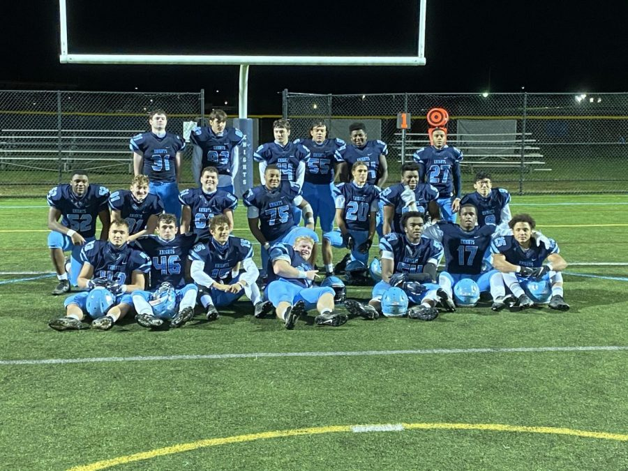 The NP football seniors wrap up the SOL regular season schedule following a victory over CB South.