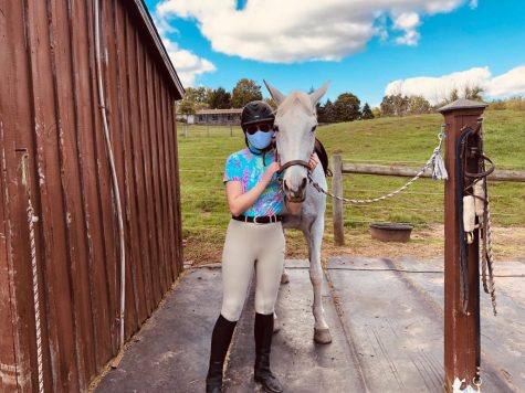 No horsng around for Katelynn Higgins. The NPHS senior has found a great passion for horses throughout her life.