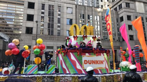 On a normal year at the at the Philadelphia parade, people get to see floats, listen to local marching bands, and get to see special guests. This year however, there won