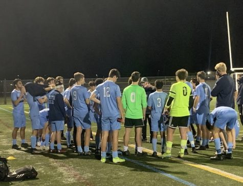 The Knights soccer team ended their 2020 season with a tough 2-0 loss to Neshaminy.
